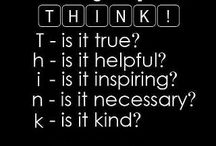 Think about it / Good thinking