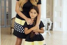 robe mère & fille