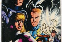 Legion of Super-Heroes / http://tinyurl.com/ebaymadandcracked / by Jean De La Garza