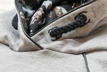 Kinder-Hoodie mit Paspelband und angedeuteter Kordel / Kinder-Hoodie von Konfetti Petterns mit eingenähtem Paspelband und angedeuteter Kordel in der Kapuze; Tutorial zum Einnähen des Paspelbandes auf meinem Blog gut in Wort und Bild erklärt