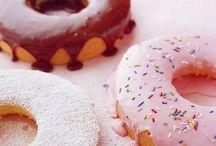Doughnuts, pancakes