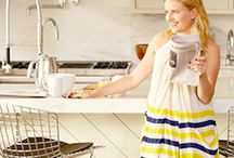 House Tour: DwellStudio's Christiane Lemieux / Explore DwellStudio founder & creative director Christiane Lemieux's chic Soho loft and recreate her signature style at AllModern / by AllModern