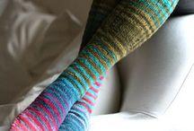 Knit Socks Love