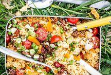 Festival-Food / Die Festival-Saison ist im vollen Gange und wir haben die besten Rezepte für schnelle Gerichte, die auch unterwegs zubereitet werden können! Ob vegetarisch oder mit Fleisch, hier ist für jeden Musik- und Food-Liebhaber was dabei.