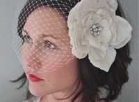 C O R I  L Y N N  C O. / Handmand bridal hair accessories + vintage jewelry + hand dyed silk sashes and flowers