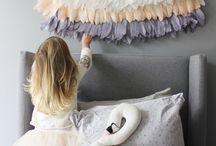 Bedrooms for Girls / On trend kids room ideas for girls.