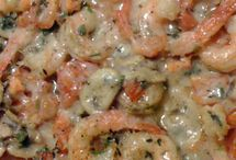 Poissons et Crevettes