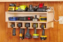 Shop storage cordless / by Denise Newman