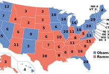 A History of US Elections / A history of the distribution of votes across the United States for each election since 1789. (D) = Democrat, (R) = Republican, (W) = Whig, (D-R) = Democrat-Republican, (F) = Federalist, (AM) = Anti-Masonic  Look how divided and united we've been over the years. These days are no different than days past.