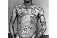 Russian bloody tatoo