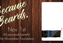 "Because Beards anthology / The ""Because Beards"" anthology benefiting The Movember Foundation."