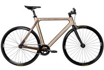 Wooden Fixie - Ash/Walnut