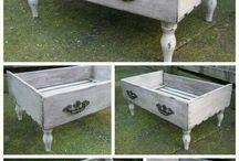 banca/scaun din sertar
