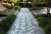 Garden surfaces / Looking for clean ideas, inviting, elegant, European, easy maintenance