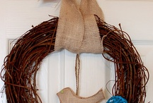 Wreaths & Decorations / by Laney Aderholt
