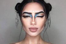Прикольный макияж