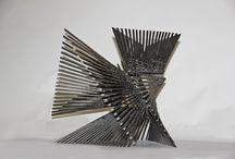 Escultura en Hierro | Rayos Cúbicos