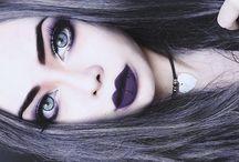 make up--gothic