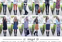 Passion for Fashion / Will try this styles...