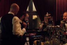 HR Giger Absinthe Tasting Tina Bar Zürich /  Lady Tina und ihr Neuer genossen die HR Giger Absinthe Wolfsmilch und Zeitgeist.  Es hat uns ausserordentlich gefreut, ein Absinthe & Cocktail Tasting mit der Tina Bar zu organisieren.