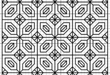 Crafts - Blackwork and Redwork / by Terry Cieniewicz
