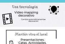 Tiendas que molan / Infografias sobre las entradas en el blog