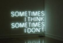 neon art / neon art signs of intersting quotes an design