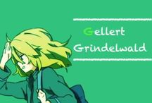 Luna  Stucliff / Gellert Gridelwald  Wizard Harry Potter