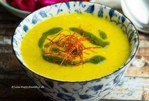 Topinambur Safran Suppe