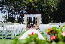 Garden and Outdoor Ceremony / Beautiful Outdoor and Garden Wedding Ceremony Images at Arundel Hills Country Club