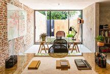 Décoration Murs Briques / Découvrez des inspirations et des idées pour décorer votre intérieur avec des murs en briques rouges ou des briques en verre.