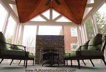 Exterior Spaces By RJK Construction, Inc / by RJK Construction, Inc