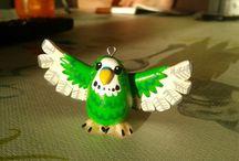 Parakeet Fimo