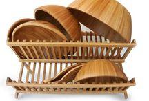 bambusová kuchyňa / drevené výrobky do  každej kuchyne