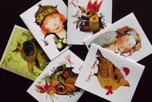 Christmas cards & illustration / by Olga Sugden