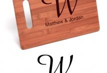 Wedding Gift Ideas / Shopping for a wedding gift that the couple will like, enjoy using, and be able to keep for a long time is a bit of a challenge. We take the guesswork out of gift-giving by offering all sorts of custom gifts such as laser-engraved bamboo cutting boards and stainless steel water bottles!  #wedding #weddings #wedding_idea  #wedding_ideas  #wedding_gift #wedding_gifts #gift #gifts #present #presents #marriage #personalized_wedding_gifts #engraved_gifts