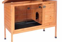 Rabbit Hutches / If you are looking for the perfect rabbit hutch or rabbit cage - you have come the right place. Whether you need a cage for just one rabbit or a whole families of rabbits, we have the hutches and cages that will fit your needs.   We have a variety of rabbit hutches and cages in different styles and sizes, and the best selection you can find. / by RadioFence.com