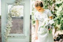 wedding colors + flowers