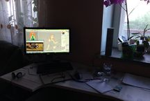 Home Office, Workspace / About our working time :)