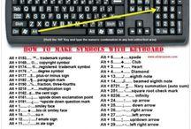 simboluri tastatura