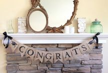 Graduation Party Ideas / Graduation party inspiration with a farmhouse feel.  If you would like to be added to this group, please send me an email with your pinterest profile link at jane_martin@cox.net Happy Pinning!:)