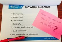SEO Tips / Snaps from our Search Engine Optimisation training course