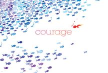 { courage }