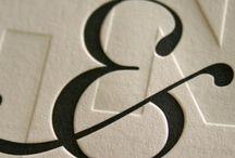 Classic Letterpress Type - Inspiration - GDII