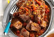 Beef Recipes / Entree ideas that focus on beef as the main ingredient. / by Lisa Giamette