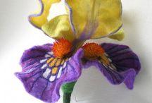 flores fieltro
