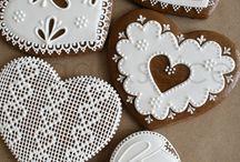perník, sušenky