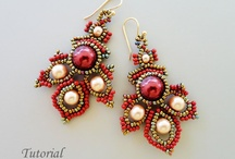 Beads - earrings, inspiration