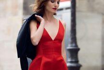 Vestido rojo Dior