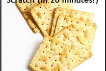 Brood en crackers